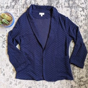 Maison Jules   Blue Sweater with Pockets Large